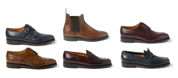Collection capsule exclusive chaussures John Lobb sur mr-porter.com