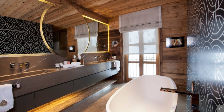 Awesome Salle De Bain Chalet De Luxe Ideas - Home Decorating Ideas ...