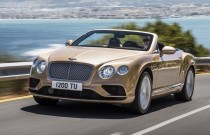 Bentley dévoile la Continental GT Speed 2016