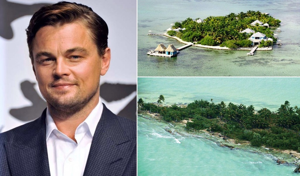 Leonardo DiCaprio  resort luxe eco-responsable