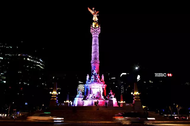 The Angel of Independence, Juárez, Mexico