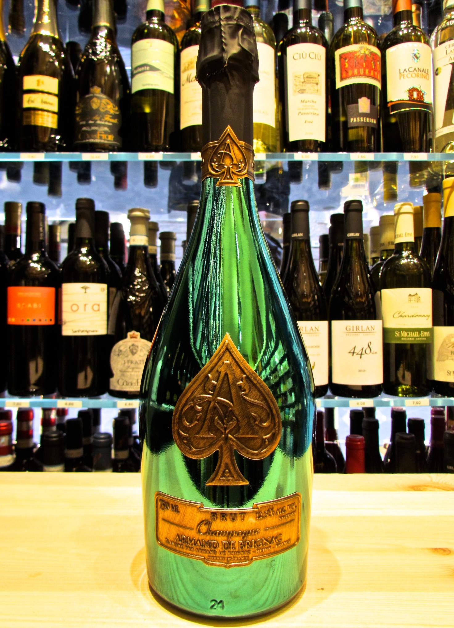 2-bottles-armand-de-brignac-brut-green-limited-edition-masters-golf-2015-75cl