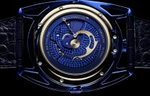 De Bethune DB28 Kind of Blue Tourbillon Meteorite : L'univers à portée de main