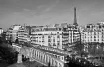 Vue sur la Tour Eiffel au First Hotel Paris…