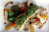 Recipe: Saddle of monkfish en persillade