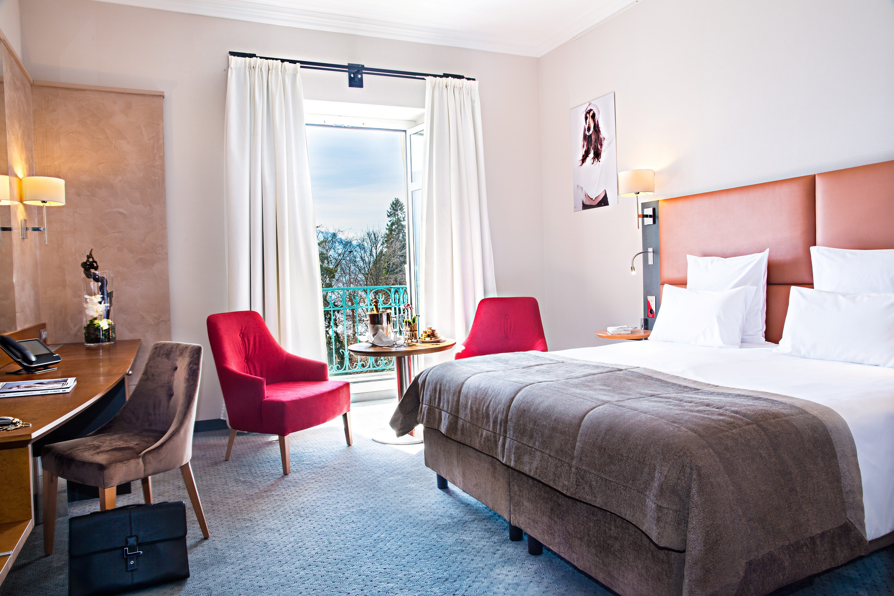Chambre - Imperial Palace Annecy - Photo DgC Photography (1)
