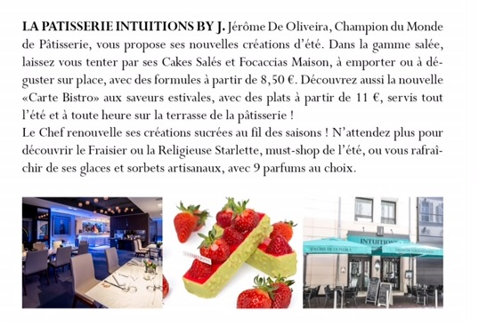 Patisserie Intuitions byJ