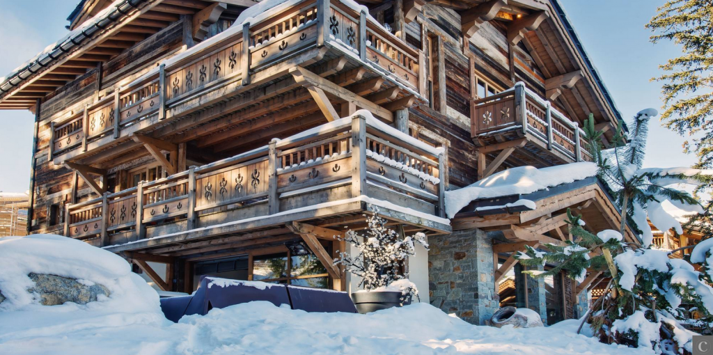 chalet Gannat courchevel
