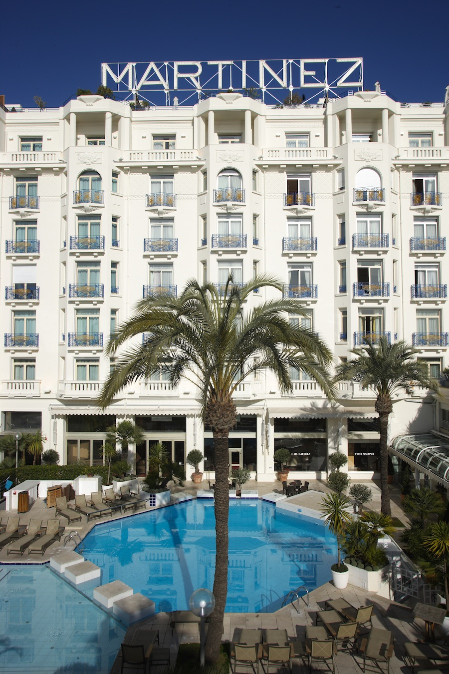 Grand Hyatt Cannes Hotel Martinez une nouvelle carte