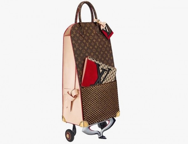 cabas Louis Vuitton x Christian Louboutin