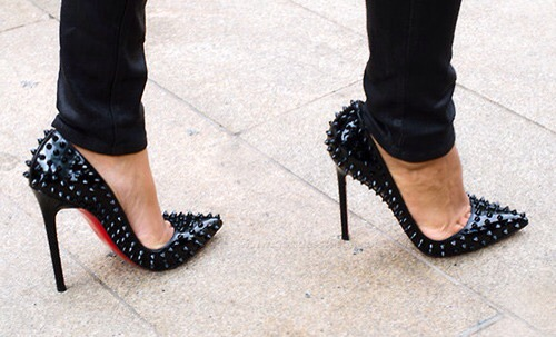 escarpins louboutin decollete