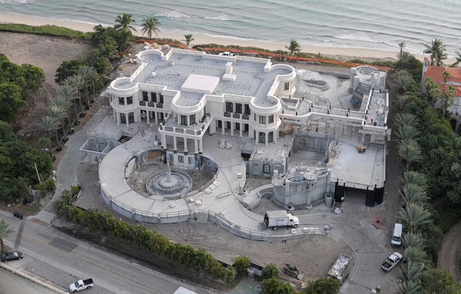 palais royal floride construction