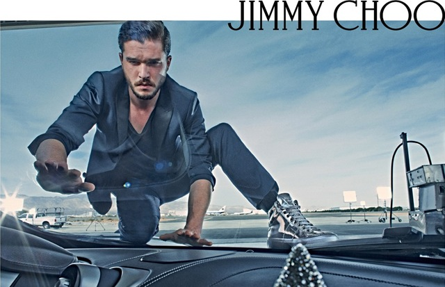 jimmy choo Kit Harington