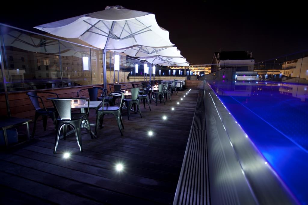 Pool Terrace by Night (3)