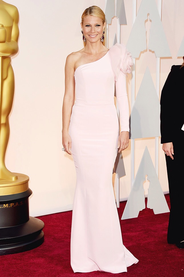 Gwyneth Paltrow en robe sur mesure Ralph & Russo Couture