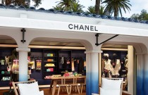 Boutique éphémère Chanel à Saint-Tropez