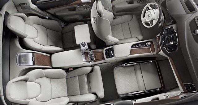 Volvo Excellence Lounge Console