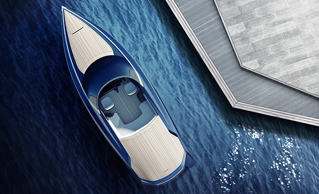 Aston Martin am37 speed boat