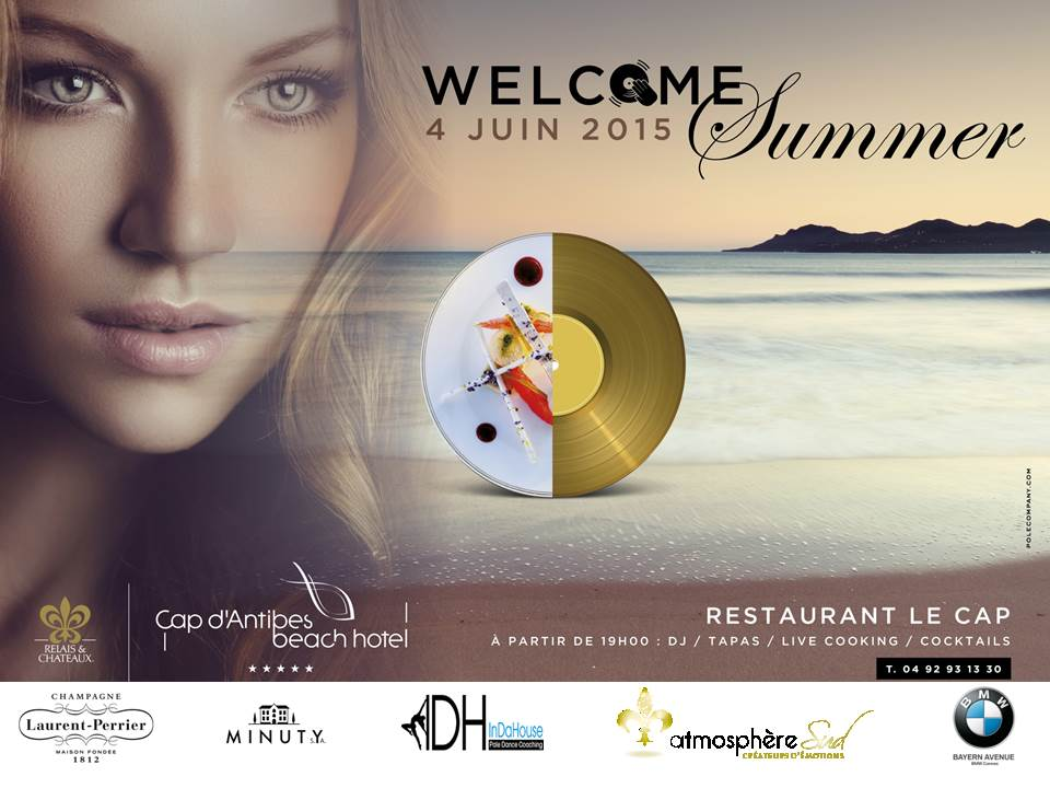 AFFICHE WELCOME SUMMER