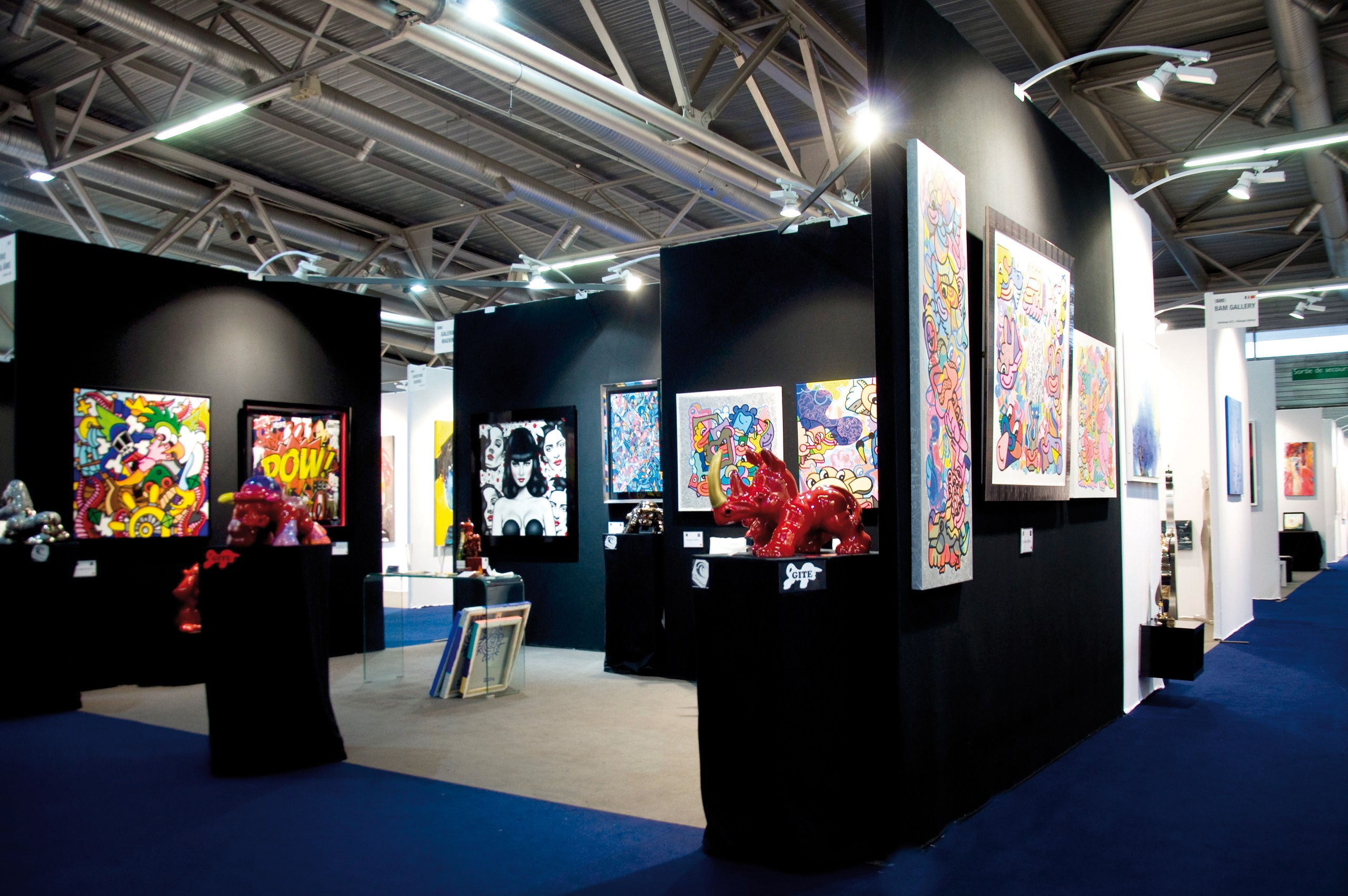 Salon international d 39 art contemporain art3f les 16 17 et for Salon international d art contemporain toulouse