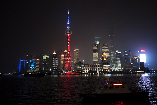 The Oriental Pearl TV Tower, Shanghai, Chine