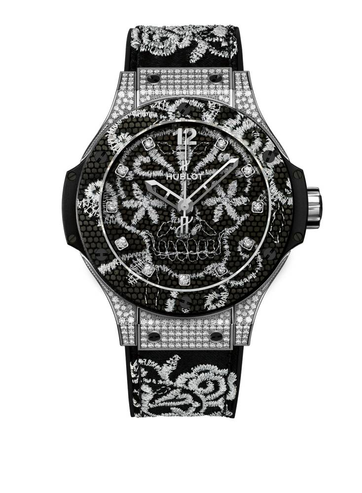 montre hublot big bang broderie