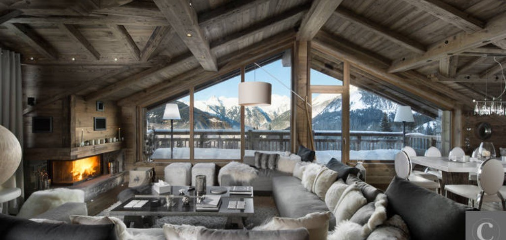 chalet l on le luxe courchevel riviera magazine. Black Bedroom Furniture Sets. Home Design Ideas