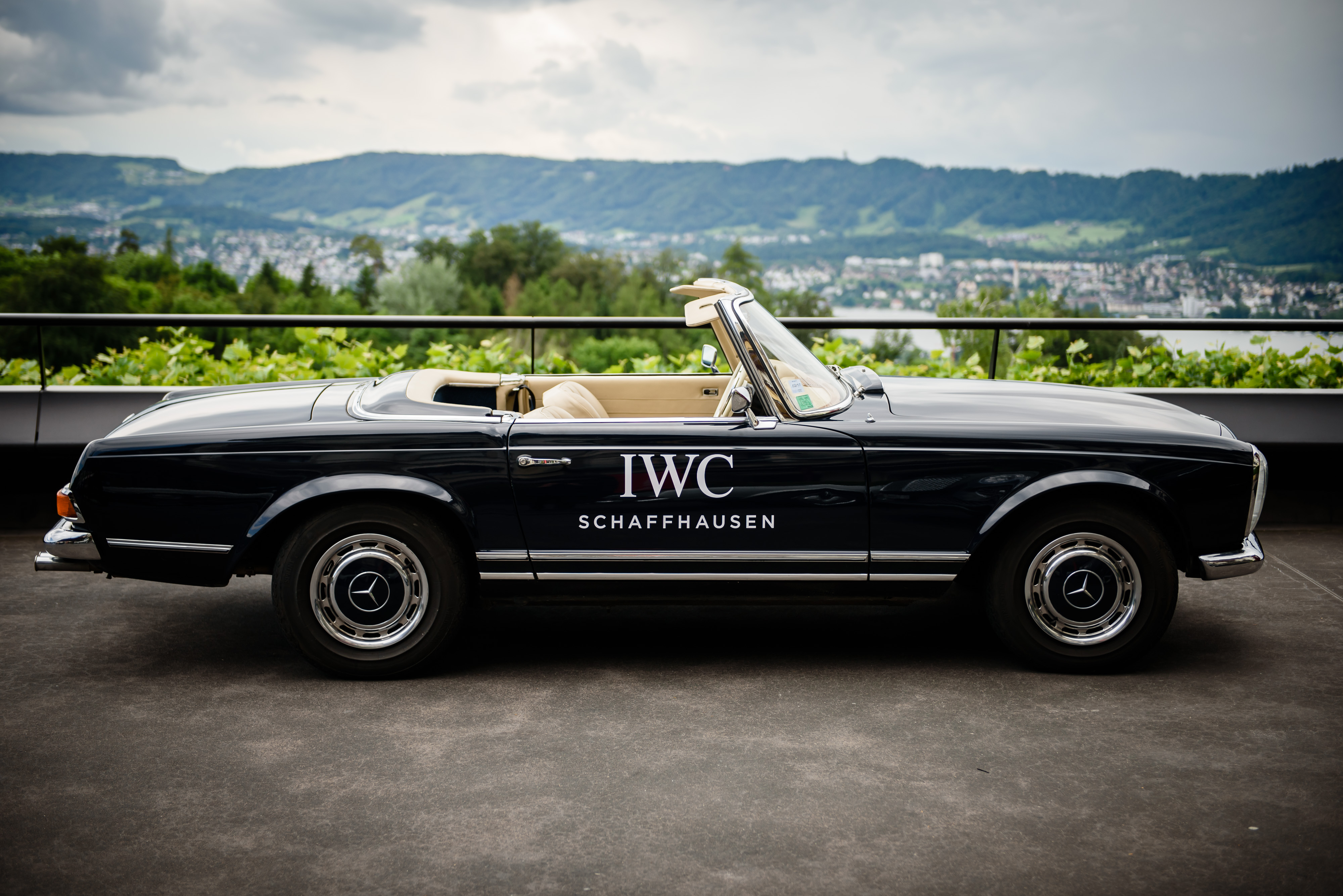 """HANDOUT - Zurich 15 June 2016, a general view during the IWC Schaffhausen watch launch to mark the start of the Passione Caracciola at the Dolder Grand Hotel in Zurich. The Swiss luxury watch manufacturer presented the two special editions from the Ingenieur watch family. The Ingenieur Chronograph Edition """"Rudolf Caracciola"""" is dedicated to an exceptionally talented racing driver of the 1930s, while the Ingenieur Chronograph Edition """"W 125"""" recalls the legendary Silver Arrow from Mercedes-Benz. Both models are limited to 750 examples worldwide and powered by the new IWC- manufactured 69370 calibre. (PHOTOPRESS/IWC)"""