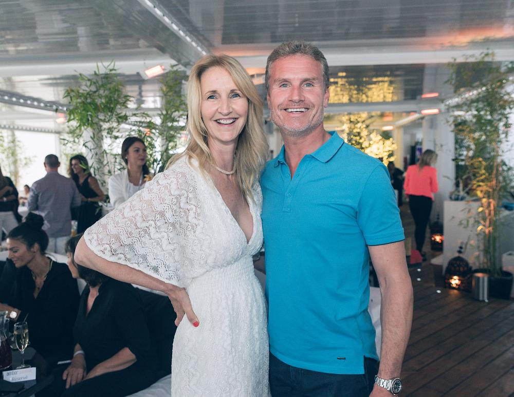 Sonia Irvine and David Coulthard Amber Summer Opening Party 2016