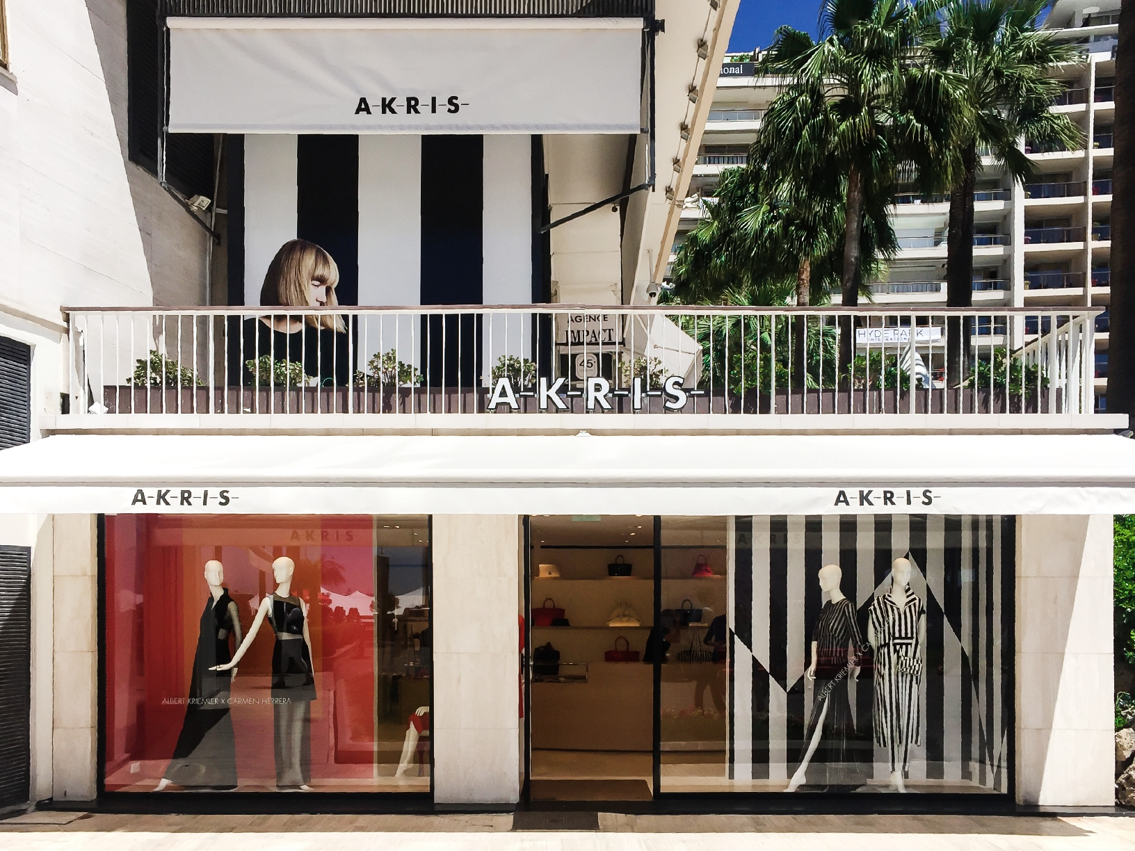 la maison de mode akris ouvre une boutique cannes riviera magazine. Black Bedroom Furniture Sets. Home Design Ideas